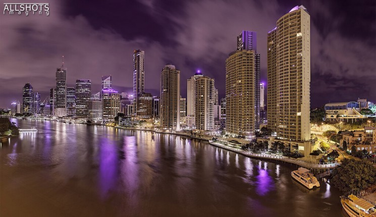 Brisbane (Queensland) : Brisbane at 1am