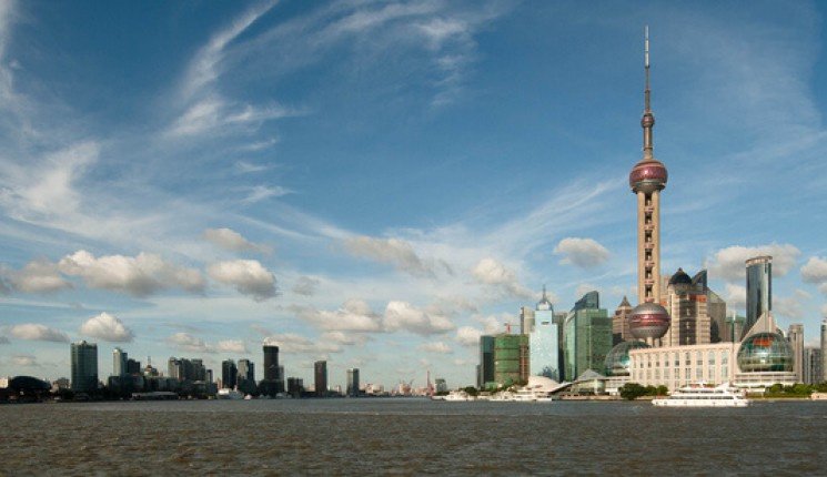 Cina : Evening in Pudong (2/2)