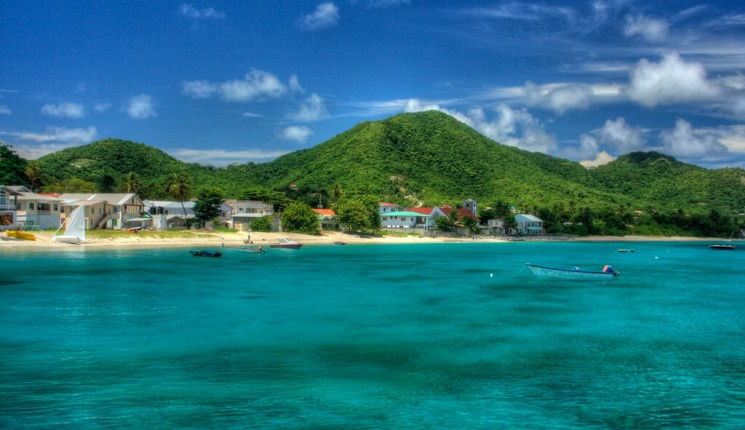 Grenada : Approaching Carriacou